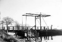 Gersloot brug over de Hooivaart 1972
