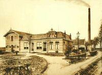 Oudeschoot Cooperatieve stoomzuivelafabriek Jagtlust 1912