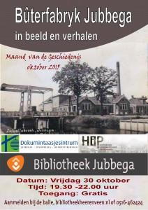 Buterfabryk klein affiche