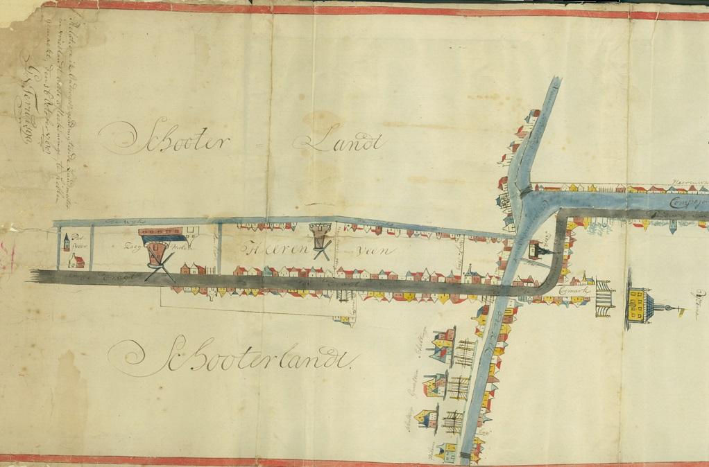 Detail kaart Heerenveen